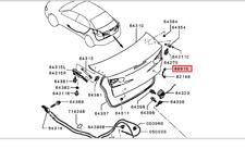 2007-2015 MITSUBISHI LANCER TRUNK LOCK CYLINDER RETAINER OEM MB590337