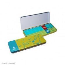 Tim und Struppi: Bleistift Dose, Box mit 8 Bleistiften, grün, neu