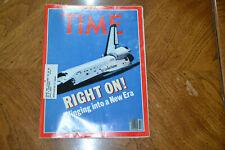 Vintage TIME Magazine - April 27, 1981 - RIGHT ON!