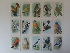 Vintage 1930s Church & Dwight Useful Birds Of America Complete Set (15) NM-MT *