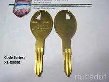 Key Blank fits Nissan Various Models 1993 to 1999 (X210) See Apps. & Code Series