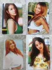 LOT of 4 SISTAR Sweet & Sour Official PHOTOCARD Full Set SOYOU DASOM HYORIN BORA