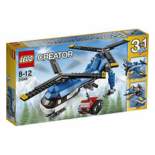 Lego Creator Twin Spin Helicopter 31049 Build 3 Models