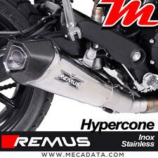Silencieux Remus Hypercone inox avec catalyseur Ducati Scrambler Sixty2 - 2017