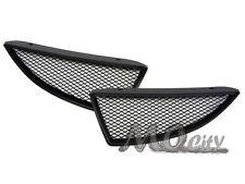 JDM Front Bumper Hood Mesh Grille for 04-05 Lancer ES LS OZ Rally Ralliart BLACK