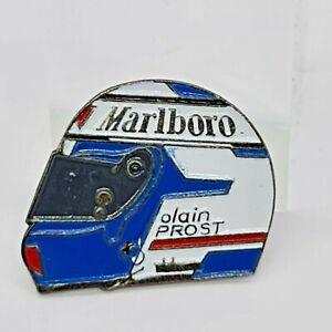Alain Prost Formula 1 Blue And White Helmet Ferrari 1991