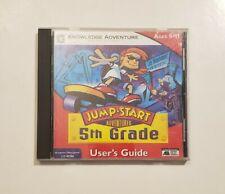 Jump Start Adventures 5th Grade Jo Hammer Kid Detective (Vintage PC/Mac CD-ROM)