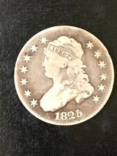 1825 Capped Bust Quarter  ( F+)