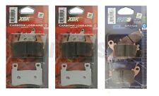 KAWASAKI ZX6R ZX636 fdf-fff 2013-15 Carbone Lorraine Delante Xbk5