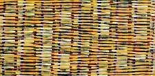 Adam Reid, Fire Dreaming, ORIGINAL Aboriginal Art 82x40cm w/ COA