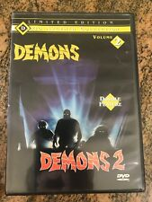 Dario Argento Collection Limited Edition Volume 2 Demons & Demons 2 Anchor Bay