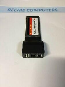 Express card 1 x Usb2 + 2 x Firewire 1394 NUOVA
