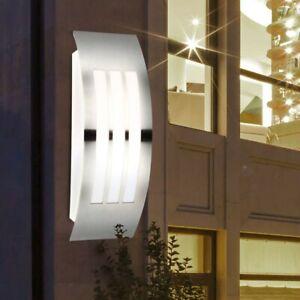 Luxus LED Wand Leuchte Haus Tür Lampe Außen Einfahrt Beleuchtung IP44 EEK A+