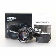 Voigtländer Nokton 35mm F/1.2 mit Leica M Anschluss - Nokton 1,2/35 Aspherical