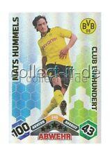 Match Attax 10/11 - 346 - MATS HUMMELS - Club Einhundert