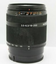 Sony 18-200mm f/3.5-6.3 DT Telephoto Zoom Lens A Mount for Sony