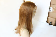 """UPS shipping Heat resistant synthetic hair front lace wig 14"""" #27 straight"""