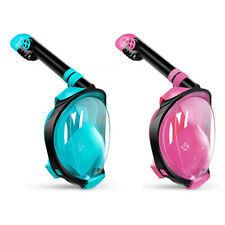 Kid G2 Anti-Fog Full Face Mask Swimming Breath Dry Diving Goggle Snorkel