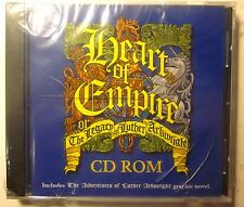 Rare! HEART OF EMPIRE The Legacy of Luther Arkwright PC CD-ROM Bryan Talbot 2001