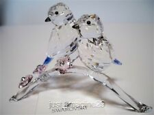 SWAROVSKI BLUE TITS CHICKADEES BIRD COUPLE 5004727 BNIB