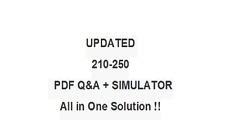 UNDERSTANDNG  CISCO CYBER SECURITY FUNDAMENTALS  210-250 QA PDF&Simulator