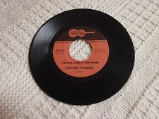 CLIFTON CHENIER I CAN LOOK DOWN AT YOUR WOMAN/ZYDECO ET PAS SALE ARHOOLIE 511