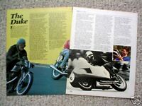 Geoff DUKE MOTORCYCLE RACING Article/Photo's/Pictures