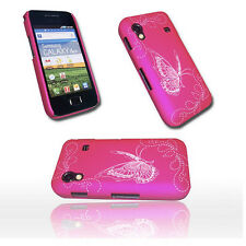 Design 1 Back Cover Case Hülle für Samsung Galaxy Ace S5830 + Displayschutzfolie