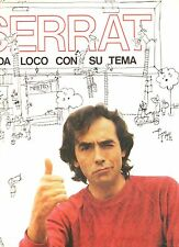 JOAN MANUEL SERRAT LP MADE in SPAIN 1983 Cada loco con su tema STAMPA SPAGNOLA