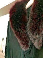 Best Offer! Alice + Olivia Fox Fur Modal Draped Cardigan - Sweater Size S M L