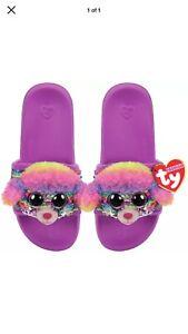 Ty: Fashion Sequin Pool Slides - Rainbow (Medium)