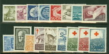 FINLAND 1957 YEARSET