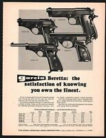 1971 BERETTA Model 709, 951, 707, 90 Pistol Garcia knowing you own the finest AD