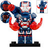 Iron Patriot - Marvel Ironman Lego Moc Minifigure Toys