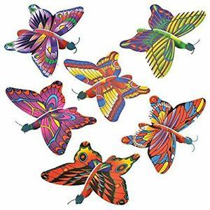 """Butterfly Foam 7"""" Gliders - 12 Count"""
