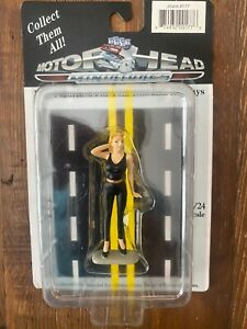 Motorhead Miniatures Figurine - Lady Joyce (1/24 scale, Black) 177 Diorama New!