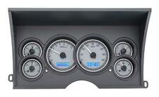 Dakota Digital 88-94 Chevy Truck Direct Fit Gauges Silver/Blue VHX-88C-PU-S-B