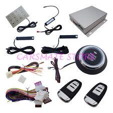 Smart passive keyless entry PKE car alarm system remote start push button start