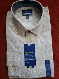 Men's Apt. 9 Regular-Fit Premier Flex Stretch Dress Shirt No Iron $45