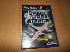 SPACE WAR ATTACCO - Sony Playstation 2 (PS2) UK PAL NUOVO SIGILLATO