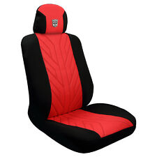 Pilot Automotive Licensed Transformers Red Black Autobot Seat Cover - Single