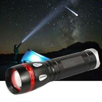 1x Upgraded Mini 3-Mode Adjustable NEW XPE LED 18650 Flashlight Torch 2200LM 0Q