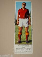 *+ ALDO SENSIBILE ROMA=FIGURINA=1966/67=ALBUM FIGURINE CALCIATORI TEMPO