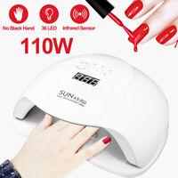 SUNX5plus 110W 36 LED UV Nail Lamp Light Gel Polish Dryer Art Curing Machine