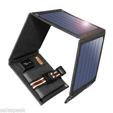 Suaoki 14W 5V/2A Solar Charger Portable SunPower Solar Panels USB for Cellphone