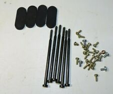 Original Microsoft Xbox Complete Shell & Motherboard screws & Pads-Good-Clean