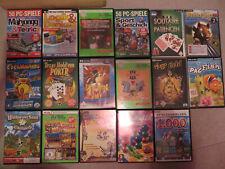 Konvolut PC-Spiele aus den späten Neunzigern und frühen Nullerjahren