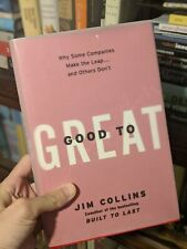 Good to Great by Jim Collins - 2001 - hardcover first edition with inscription