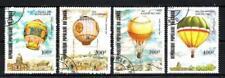 Ballons et Dirigeables Congo (7) série complète de 4 timbres oblitérés