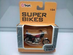 Super Bikes 1:24 Scale / Yamaha Virago - Metallic Red - Model Motorbike